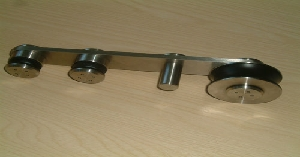 metal glassdoor handle